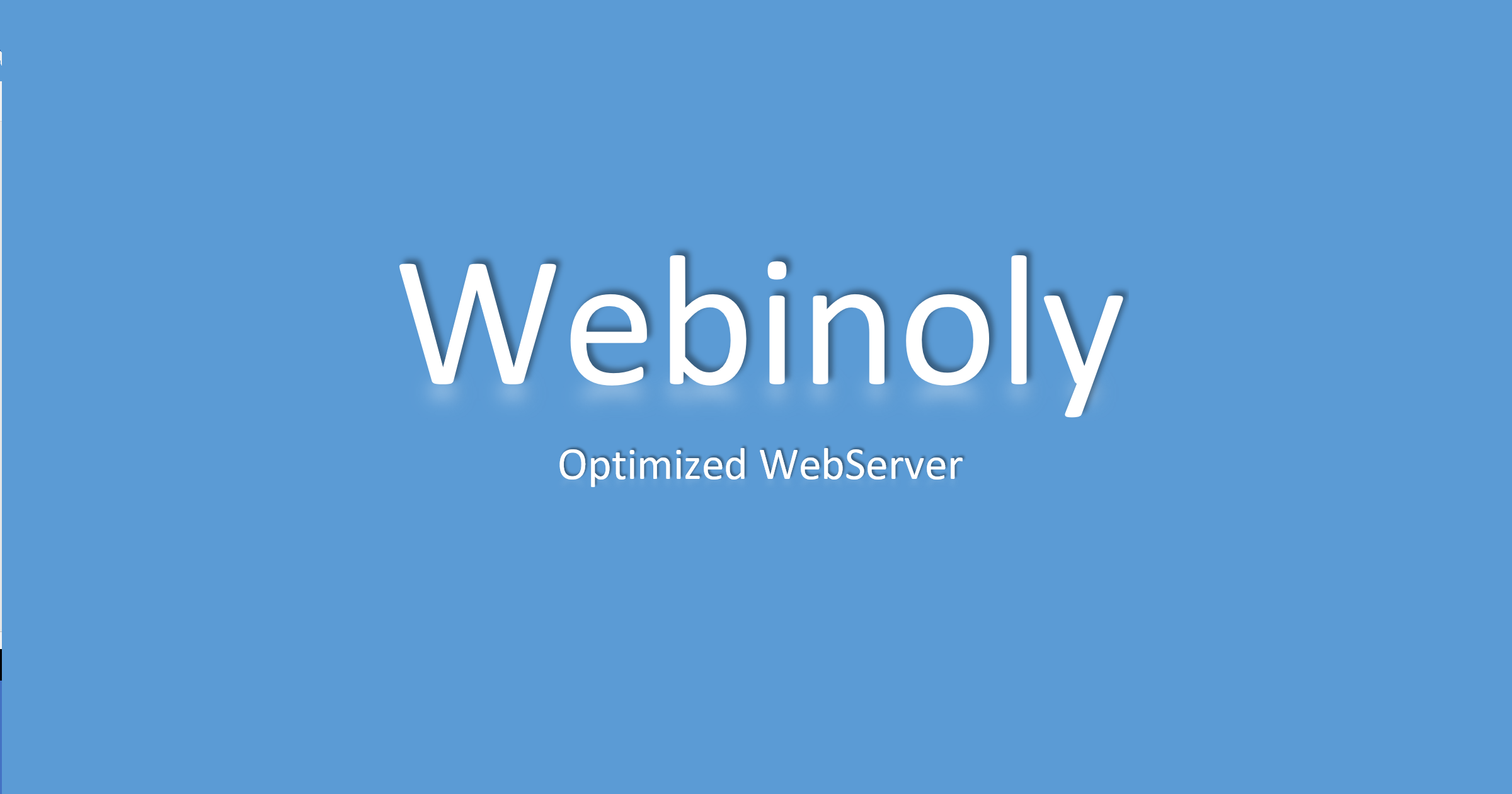Manage and configure your Web Server with Webinoly